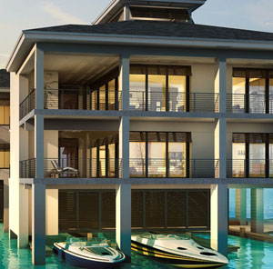 Overwater Penthouses