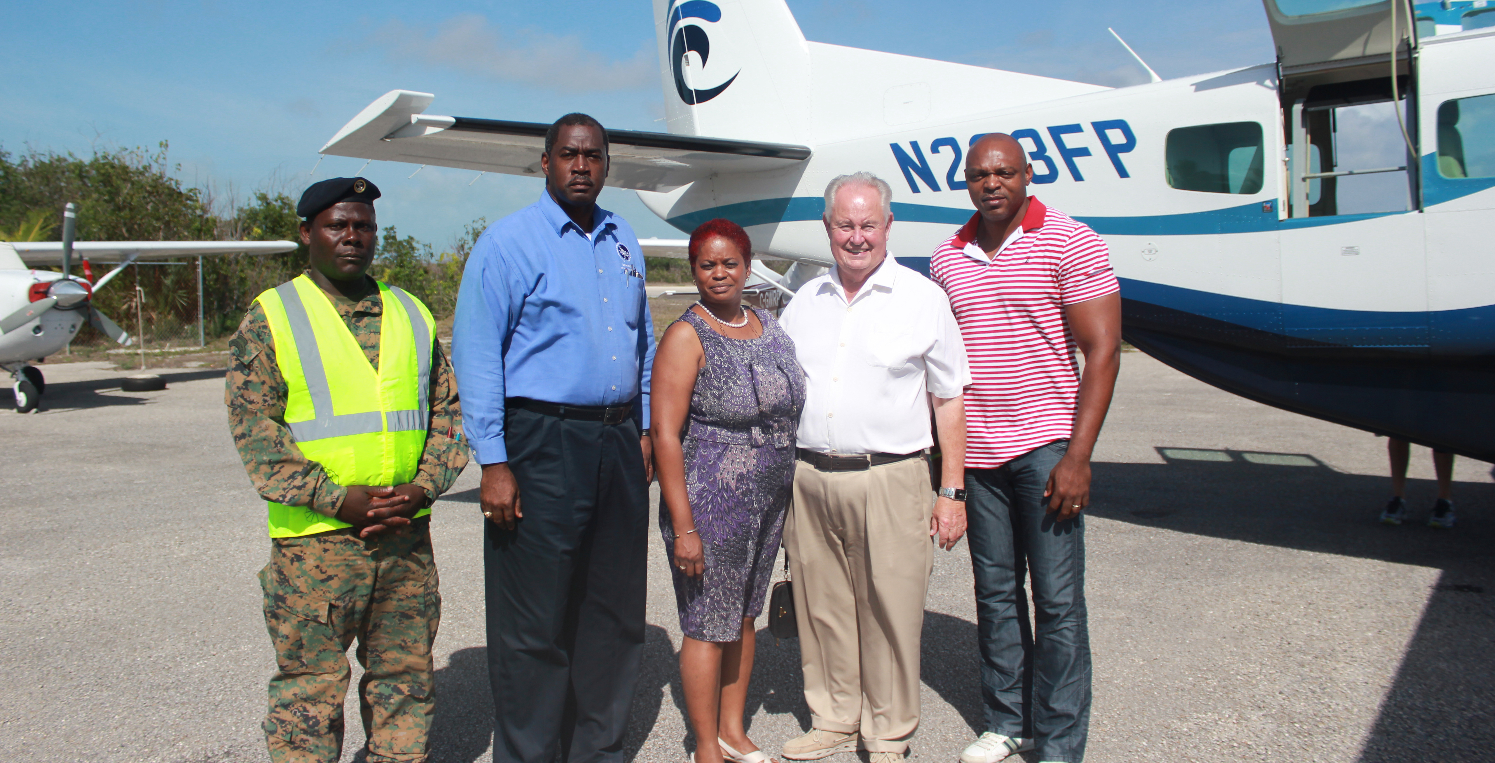 February Point helping other islands in the Bahamas