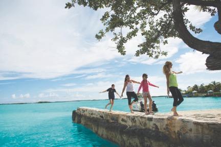 February Point in Exuma Bahamas