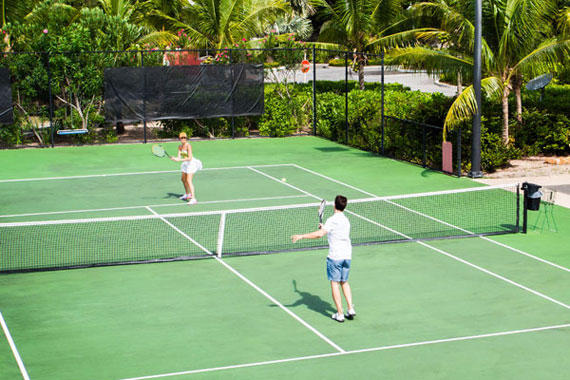 Tennis Time, Island Style